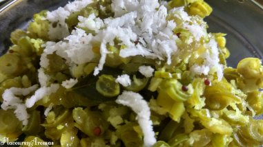 French Beans Sabji