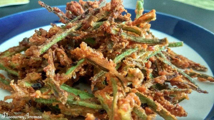 Crispy Bhindi/Okra Fry